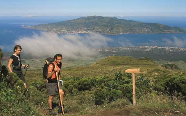 Subida à Montanha do Pico